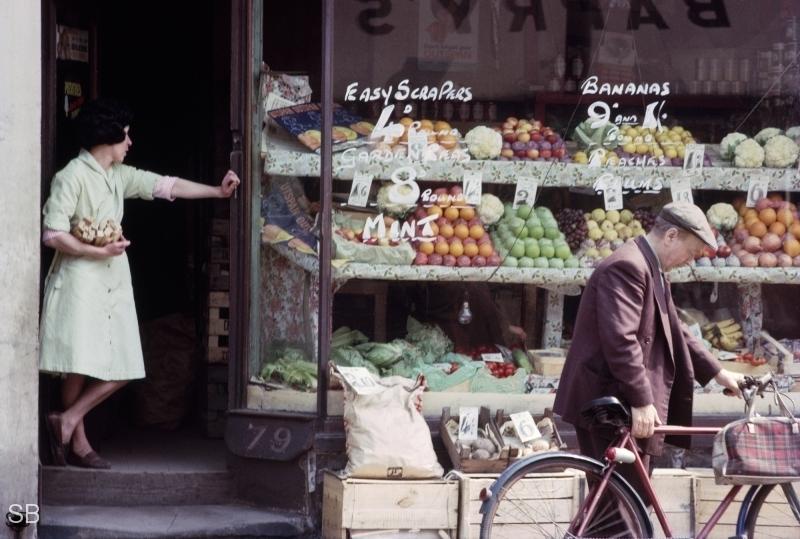 the street photographs  early colour
