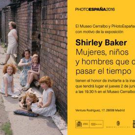 Shirley Baker invittation