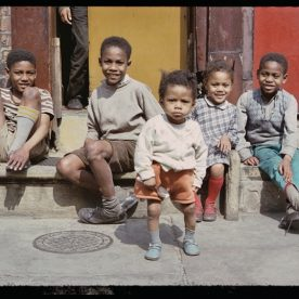 Boys in the street, Manchester, Shirley Baker