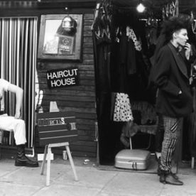 Shirley Baker photograph of punks in camden