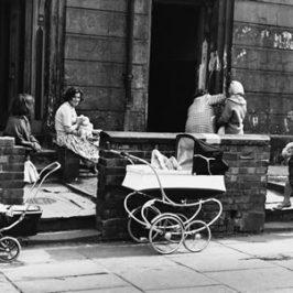 Shirley Baker photograph of prams in street