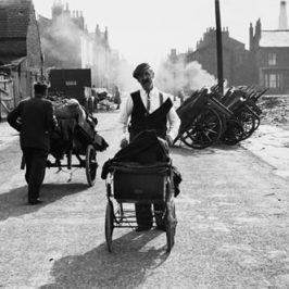 Shirley Baker photograph of rag and bone men