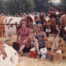 Shirley Baker photograph of two women at country show