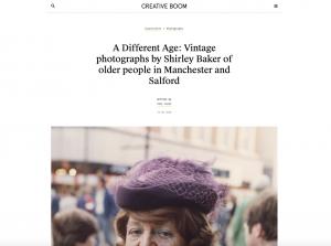 Creative Boom website piece about Shirley Baker