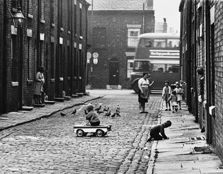 Shirley Baker photograph of street scene